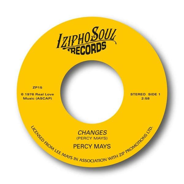 PERCY MAYS -  CHANGES  / CHASE AWAY THE BLUES.  SOLD OUT!