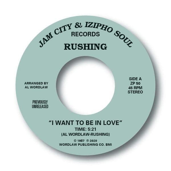 RUSHING - I WANT TO BE IN LOVE / TELL YOUR BOYFRIEND