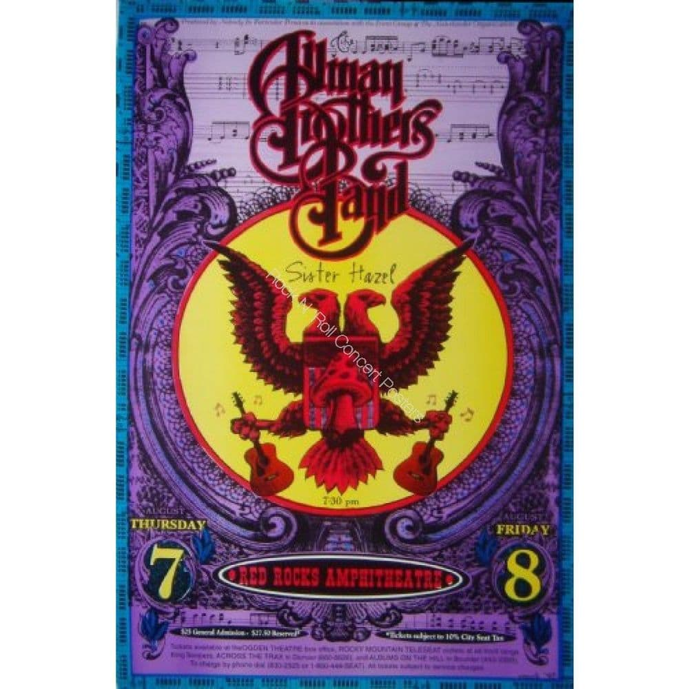 Allman Brothers 7/8/97 Colorado