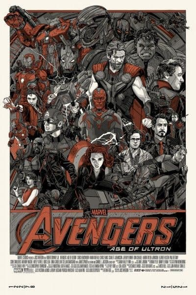 Avengers - Age of Ultron Cast & Crew Variant