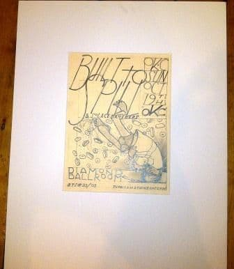 Built To Spill 19/10/03 Original Drawing