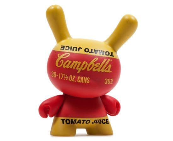 Campbell's Juice Box Andy Warhol Dunny Series 2