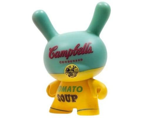 Campbell's Soup Can Andy Warhol Dunny Series 2