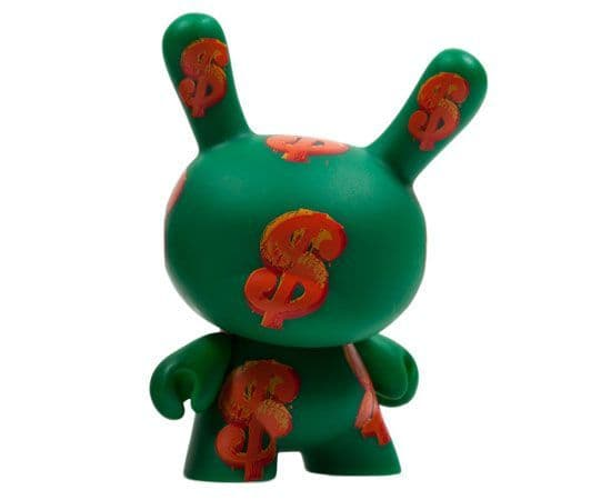 Dollar Sign Andy Warhol Dunny Series 2