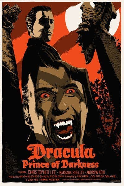 Dracula: Prince of Darkness Movie Poster Variant