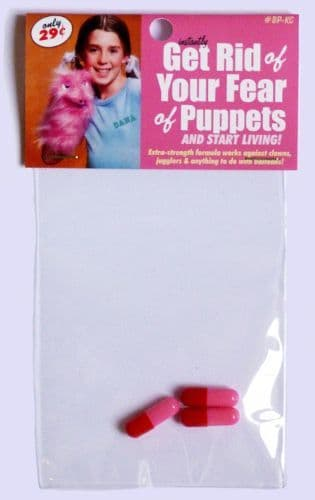 Get Rid Of Your Fear Of Puppets (and start living!) #79