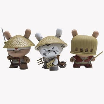Gold Life Dunny Series 3 Inch