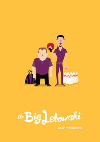 Jesus - The Big Lebowski Movie Poster