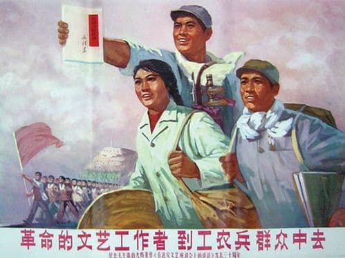 Revolutionary artists should go to work for workers, farmers and