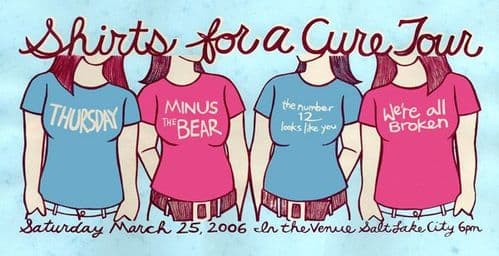 Shirts For A Cure Tour 25/03/06