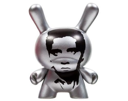 Silver Elvis Andy Warhol Series 2  Dunny Chase