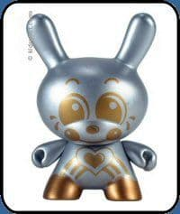 Sket One Dae Dae SILVER AND GOLD Dunny Series 2 Chase