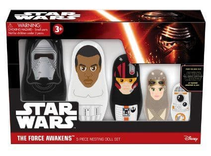 Star Wars - The Force Awakens - Nesting Doll Set