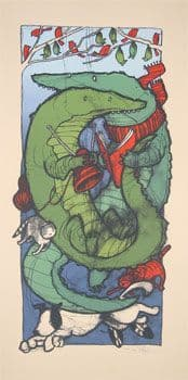 The Alligators Art Print 2006