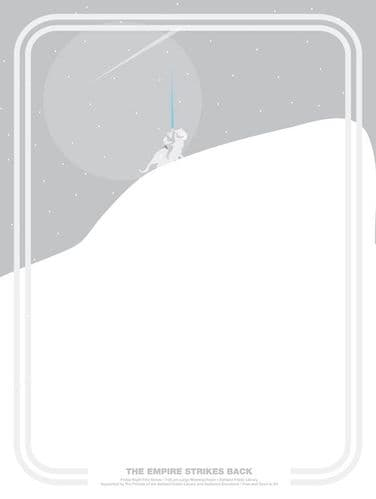 The Empire Strikes Back Movie Poster