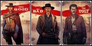 The Good, The Bad and The Ugly 3 Poster Set