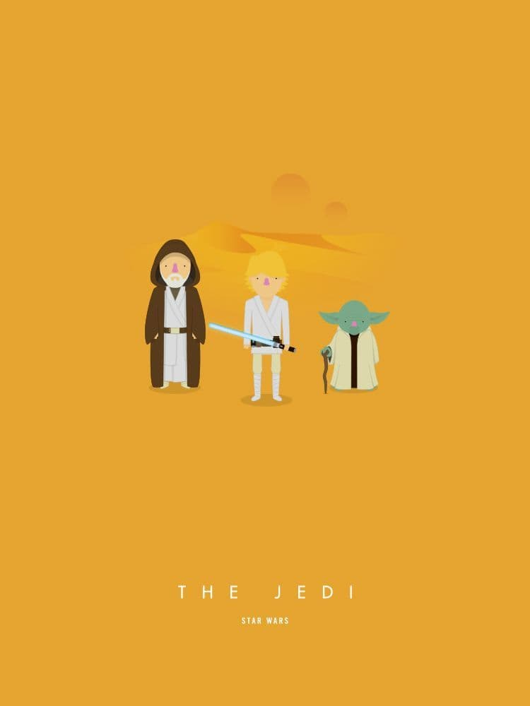The Jedi - Star Wars Movie Poster