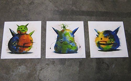 The Three Friends Giclee Set