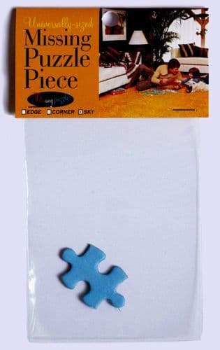 Universally-Sized Missing Puzzle Piece #160