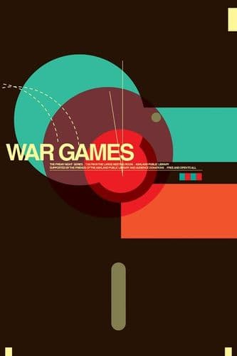 War Games Movie Poster