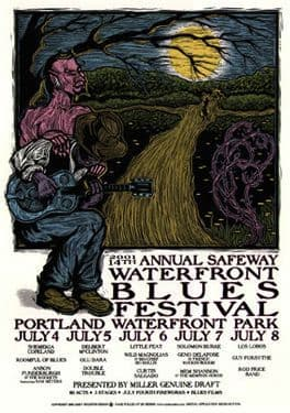 Waterfront Blues Festival 2001
