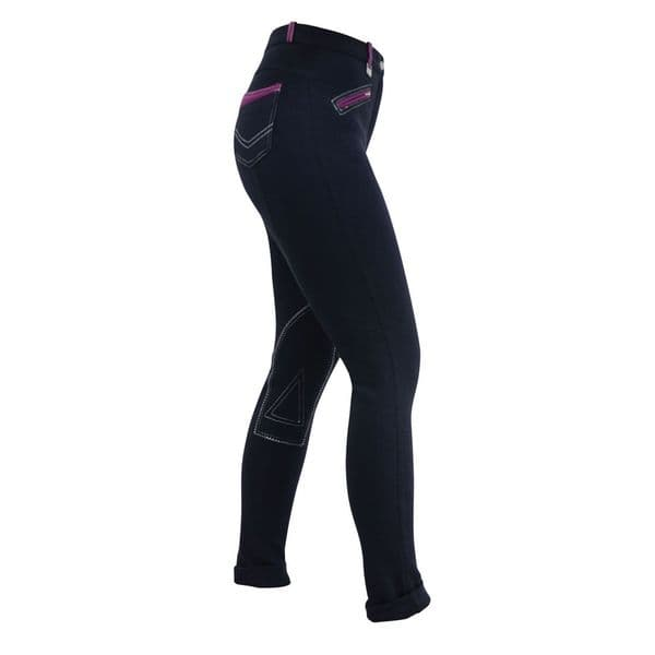 HyPerformance Diesel Ladies Jodhpurs - Navy/Port Royal
