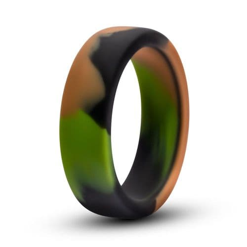 Green Camouflage Cock Ring