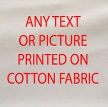 Any Picture Design Text Printed Fabric Panel