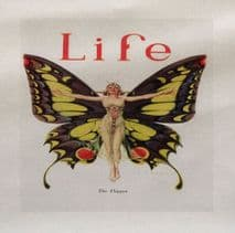 Butterfly Life Printed Fabric Panel
