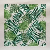 Leaf Leaves Rainforest Pattern Plant Fabric Panel