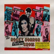 Rocky Horror Picture Show Tim Curry Movie Printed Fabric