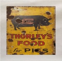 Thorleys Pig Printed Fabric Panel