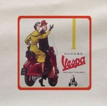 Vaspa get the Best Scooter Printed Fabric Panel