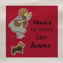 Wizards Of Oz No Place Like Home Fabric Panel