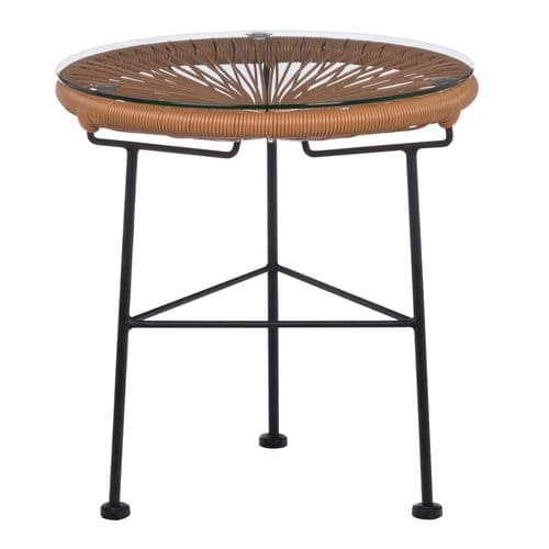 Acapulco Table - Brown Candy