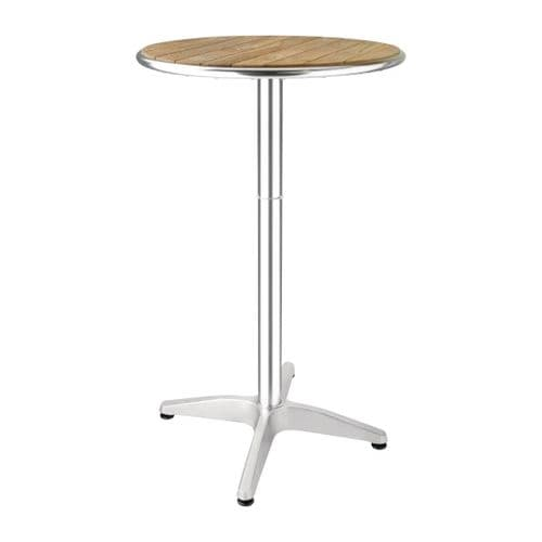 Ash Top Round Poseur Table 600mm