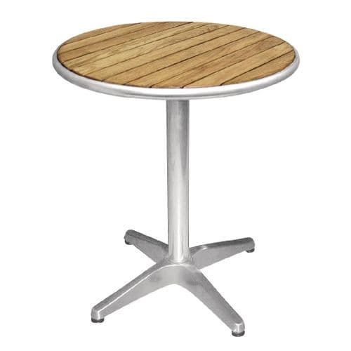 Ash Top Round Table 600mm