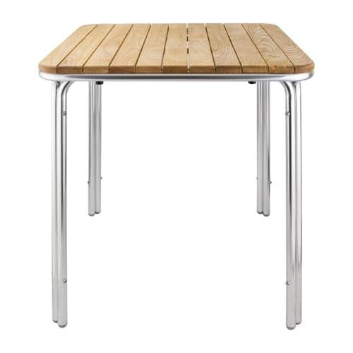 Ash Top Square Stackable Table 700mm