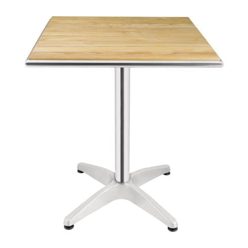 Ash Top Square Table 600mm