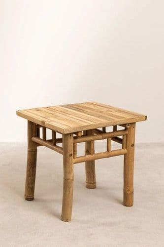 Bamboo Side Table - Square