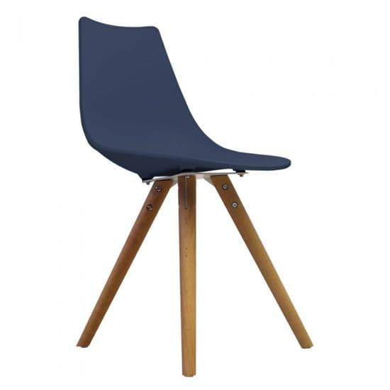 Eames Inspired N-DSW Side Chairs with Natural Legs