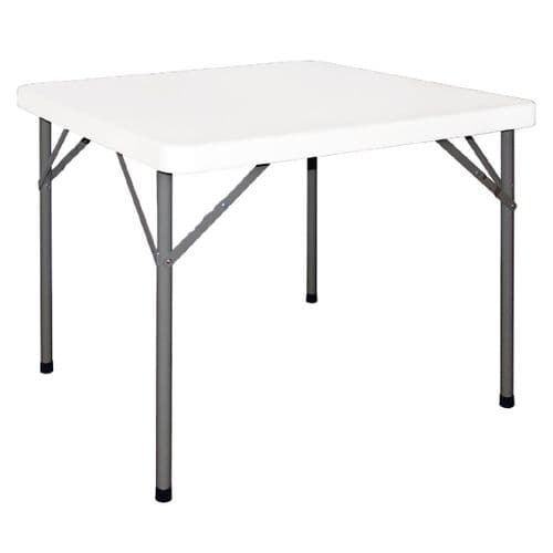 Folding Table Square 3ft White