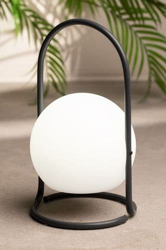 LED Outdoor Table Lamp - Grey