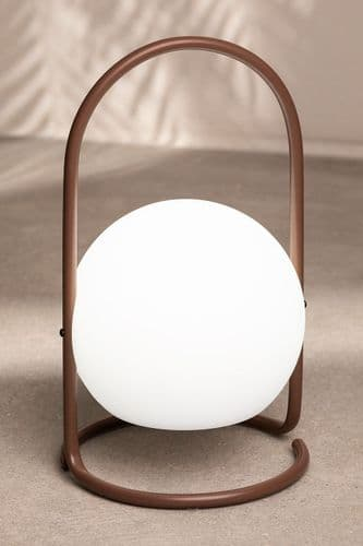 LED Outdoor Table Lamp - Terracotta