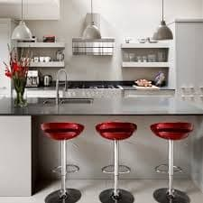 Red Stools