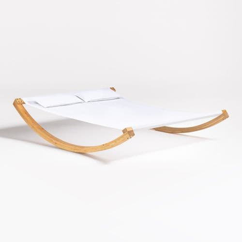 Sol Lounger - Natural / White