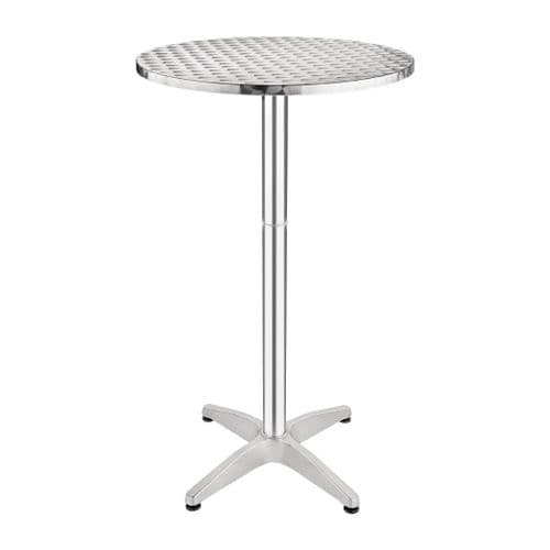 Stainless Steel Poseur Table 600mm