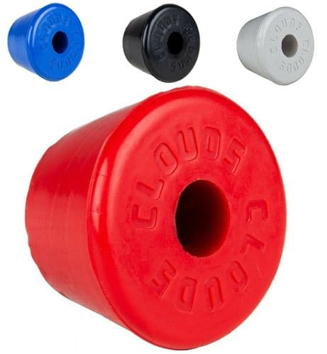 Clouds Fixed Toe Stop - Rubber or Urethane (sold individually)