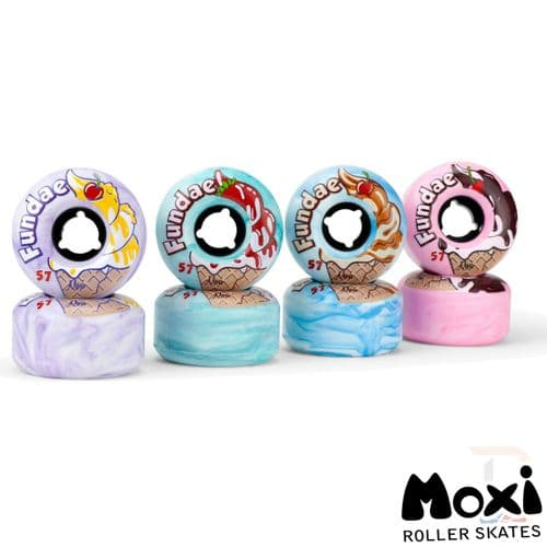Moxi Fundae Wheels (4 pack)