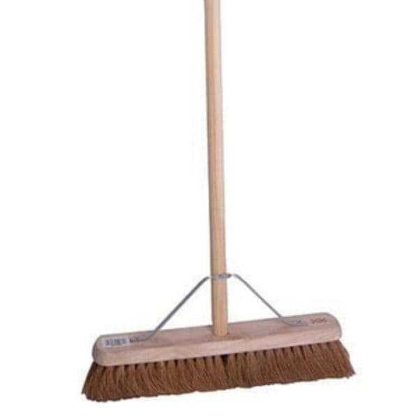 Soft Wooden Broom with stays